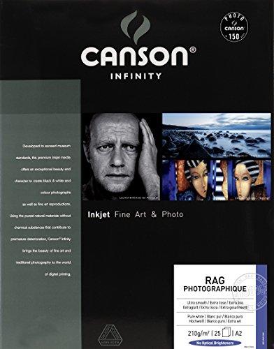 Canson 206211029 Rag Photographique Box, A2
