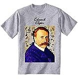 Photo de teesquare1st Men's Edward Elgar Composer T-Shirt Gris Size XXXXXLarge par