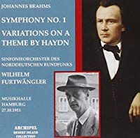 Brahms:Symphony No 1/Haydn Var