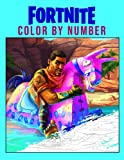 Fortnite Color by Number: Online Video Game Illustration Color Number Book for Fans Adults Stress Relief Gift Coloring Book, 8.5'x11' With Color Chart in Back Side, Easy to Color
