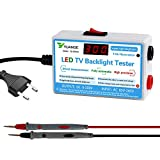 KOET LED TV Backlight Tester, LED Light Strip Lamp Beads COB Light Source Repair Testing Tool with LCD Digital Display, 0-300V Output Adaptive Voltage
