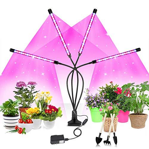 Soudntns Plant Light LED Grow Light Grow Light 80 LEDs Full Spectrum...