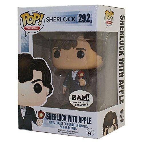 Funko - Figurine Sherlock - Sherlock avec sa pomme Exclu Pop 10cm - 0849803065546