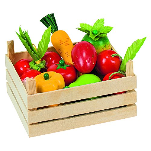 Goki 51658 - Kaufläden und Zubehör - Obst und Gemüsein Kiste