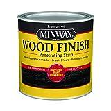 Minwax Wood Finish 227644444, Half Pint, True Black