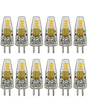 12x G4 1,5-2,0 Watt dimbaar 12V DC of 12V AC/DC warm wit 3000K geschikt voor dimmer pin socket 360° lamp lamp fitting spot halogeen set lamp 10W / 20W halogeen set