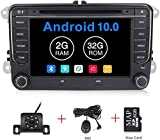 Android 10.0 OS 7 inch Touch Screen Car Radio Systems DVD for VW Volkswagen Beetle Skoda Golf 5 Golf 6 Polo Passat B7 T5 CC Jetta Tiguan Vehicle GPS Car Multimedia Navigation