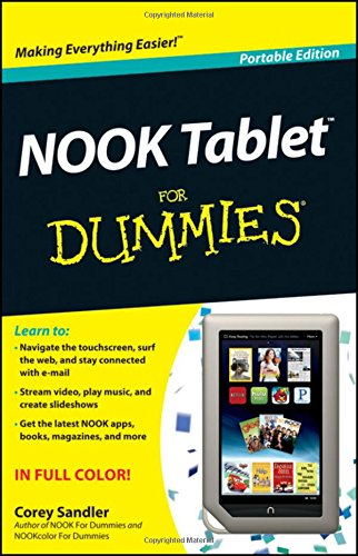 NOOK Tablet For Dummies: Portable Edition (For Dummies Series)
