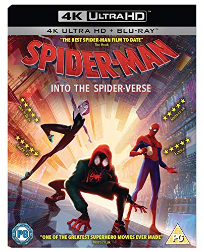 Spider-Man: Into the Spider-Verse [Blu-ray] [UK Import]