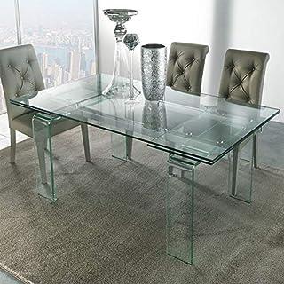M-029 Table Design en Verre Extensible Delia