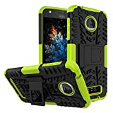 MRSTER Moto Z Play Hülle, Outdoor Hard Cover Heavy Duty