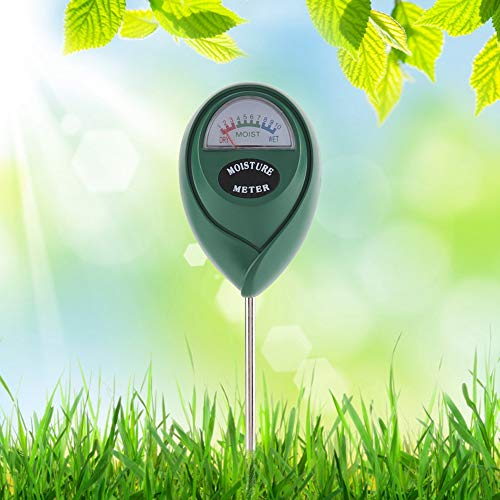 Save %9 Now! Bonsai Soil Moisture Meter, 2 in 1 Soil Tester Moisture Meter Humidity Monitor PH Detec...