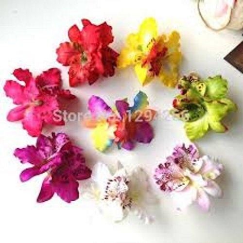 Color Lavanda New Fashion matrimonio sposa Orchidee Hair Clip