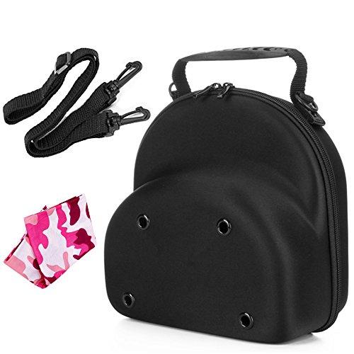 Baseball Hat Cap Carrier Case Ball Caps Holder Storage Organizer Bag for Travel Black Big for Men (Cap Carrier 2-3)