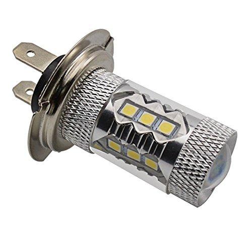 katur H7 80 W 16SMD LED pour queue Conduite brouillard ampoule feux de circulation diurnes