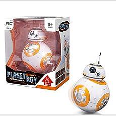 Planet Boy Star War BB-8 Remote Control Rolling Robot Intelligent Magnetic BB-8 Spherical Planet Model Children Toys
