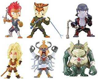 Bandai Thundercats Stylized Super Deformed Figure 6Pack Collector Pack LionO, Cheetara, Panthro, Tygra, MummRa Slithe