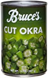 Bruce's Cuts Okra, 14-Ounce Cans (Pack of 12)