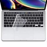 ShotR Macbook Pro キーボードカバー 2020 13インチ / 16インチ 【M1チップ対応】 日本語JIS配列 防水防塵カバー 超薄0.1mm TPU材質 クリア マックブックプロ A2338 / A2289 / A2251 / A2141 KC