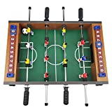 Benfu Table Football Table Games, Table Foot Games, Suitable for Family Games, Wooden Mini Football Table