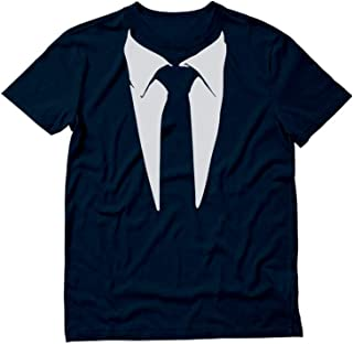 Printed Suit & Tie Tuxedo Men's T-Shirt