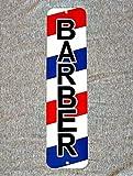TammieLove - Señal para peluquería, barbería, barbería, poste de peluquería, corte de silla de peluquería, cartel de calle de 4 x 16 pulgadas