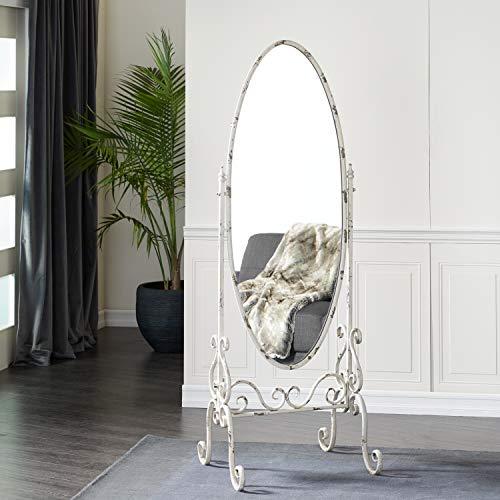 Deco 79 18108 Metal Floor Mirror 23' W, 69' H