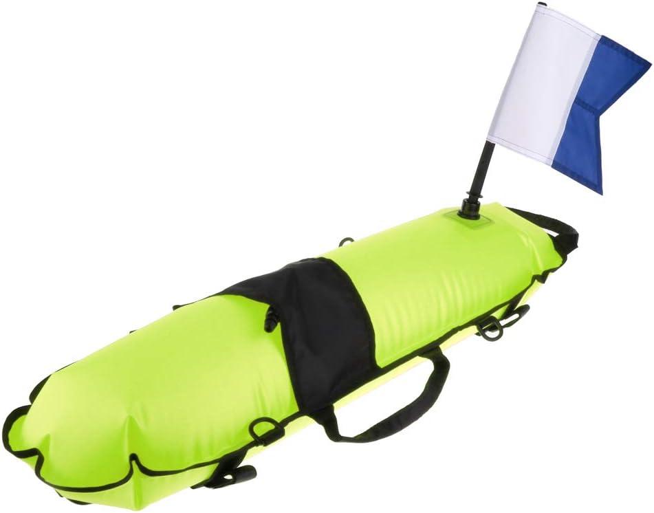 menolana Heavy Duty Scuba Diving Surface + Dive Buoy Marker Flag Selling and selling Sacramento Mall