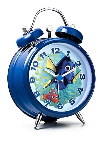 Walt Disney Finding Dory Mini TWINBELL Alarm Clock Finding Dory Wecker Dorie und Nemo FID11