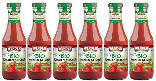 WERDER 6 x BIO Tomaten Ketchup 500 ml
