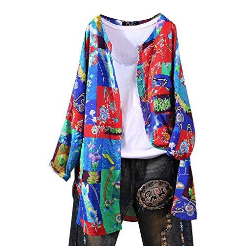 Luckycat Abrigo Camisas Mujer Casual Camisa Larga Mujeres Blusa Casual Cuello V Camiseta Túnica Color Puro Camisa a Raya Mangas Largas para Mujer Sexy Camisetas Tops Camisas Elegantes Tallas Grandes