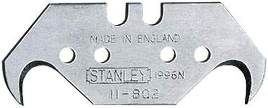Stanley Haakmessen 1996 (met gaten, 0,65 mm lemmetdikte, geschikt voor verpakkingen/vloerbedekkingen/plastic) 1-11-802