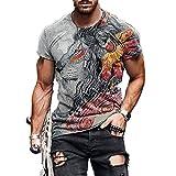 SSBZYES Camiseta para Hombre Camiseta De Manga Corta De Verano para Hombre Camiseta De Gran Tamaño para Hombre Camiseta De Cuello Redondo Camiseta Camiseta Deportiva con Parte Superior De Fondo Fino