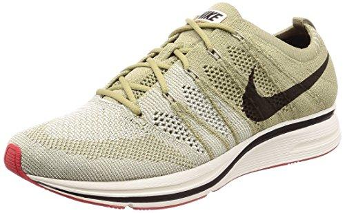 Nike Flyknit Trainers Herren Running Trainers AH8396 Sneakers Schuhe (UK 6.5 US 7.5 EU 40.5, neutral Olive Velvet Brown 201)
