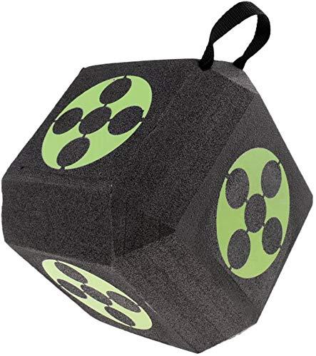Target 3D Cube Foam Target 18-1 - Objetivo de tiro con arco, reutilizable, autorreparable, portátil, grande y con capa de espuma con tecnología de polifusión