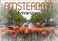 AMSTERDAM Erinnerungen (Wandkalender 2022 DIN A2 quer): Das Flair einer einzigartigen Stadt (Monatskalender, 14 Seiten )