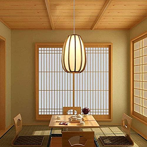 Lámpara De Techo Retro De Bambú De Ratán Tejida A Mano Restaurante Japonés Cafe Tatami Dormitorio Lámpara Colgante De Mesita De Noche Luz De Techo Colgante Antigua Zen De Estilo Chino Nuevo