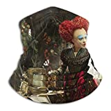 Alice-In-Wonderland Rave Bandana para hombres y mujeres, polaina para el cuello, bufanda, polvo, viento, pasamontañas