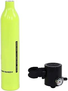 VGEBY1 Juego de Tanque de Buceo Bolsa de respirador Equipo de Buceo Adaptador hidroneum/ático Botella de ox/ígeno de Buceo Respirador Cilindro de ox/ígeno Tanque