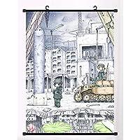 アニメマンガ壁ポスタースクロールルーム家の装飾壁アートアニメーション周辺機器少女終末旅行 50x75cm