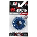 Franklin Sports Baseball Bat Grip Knob - Gator Grip Bat Nub - Baseball and Softball Bat Grip Knob - Improved Grip and Sting Reducer - Navy, One Size, Model: 24051C3