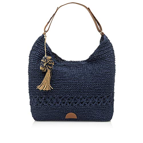 MTNG AMARRA, Shopper para Mujer, Azul (Teji Azul), 16x40x47 cm (W x H x L)