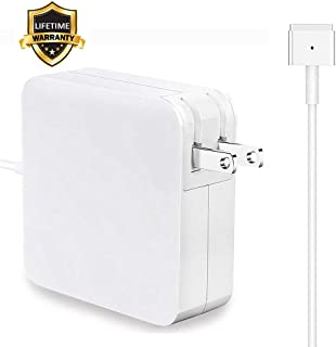 Mac Book Air Charger, 45W MagSafe 2 Power Adapter Magnetic T-Tip Ac Charger for MacBook Air 11 Inch and 13-inch