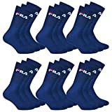 Fila Freizeit und Sport-Socken 18 Paar Sparpack Tennis-Socken | Damen und Herren (Navy 35-38)