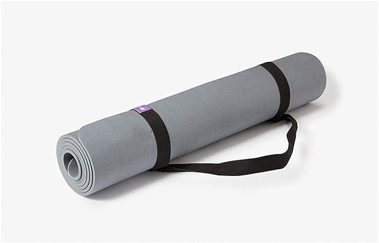 MEIDI Home Tapis de Yoga 80cm Double Face, sans Odeur, pour Hommes, Sports portable Longs Anti-Glisse