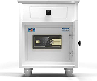 Wall Safes Bedside Fingerprint Safe Household Small Double Password Safe Smart Hidden Safe Mini Invisible Locker Cash Jewe...