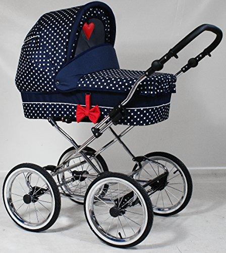 Precioso Retro cochecito bebé carro 2en 1 K111