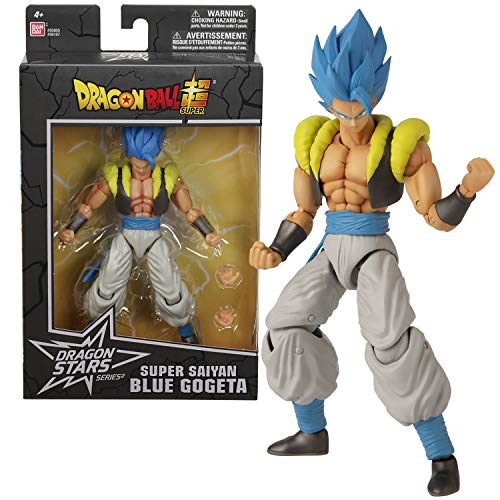 Dragon Ball Super - GOGETA S.S. BLUE Figura de acción Deluxe (Bandai 36187)