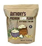Anthony's Premium Lupin Flour, 1 Pound, Gluten Free, Non GMO, Vegan and Keto Friendly