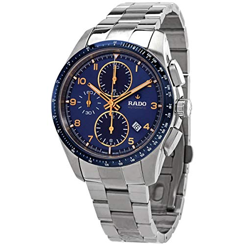 Rado Reloj automático cronógrafo Correa de Acero Caja de dial Azul R32042203
